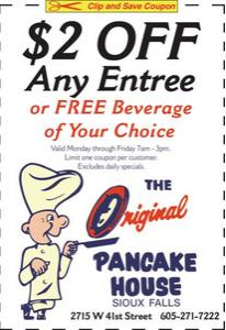 Coupon for Original Pancake House