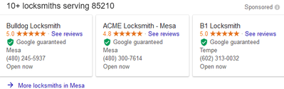 Locksmith Home Services Box